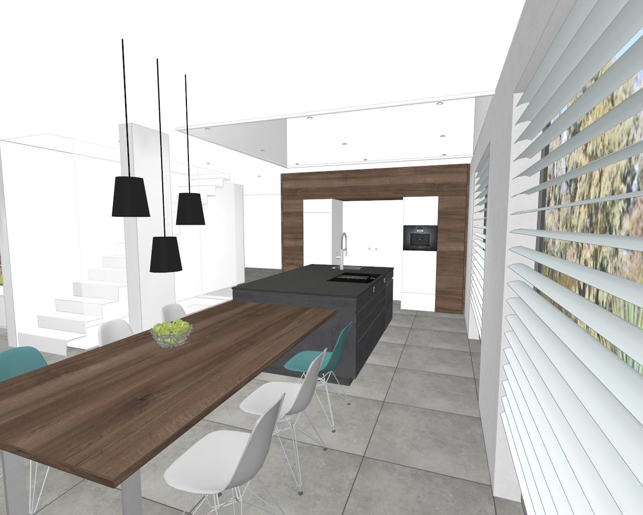 k chenwerkstatt amberg k che komplett mit esstisch und. Black Bedroom Furniture Sets. Home Design Ideas
