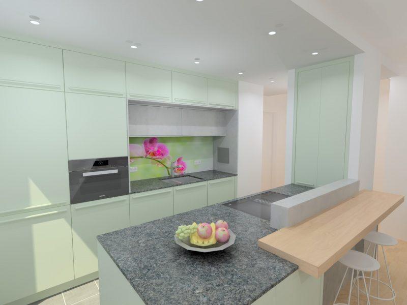 Küchenwerkstatt Amberg Küche Komplett Mit Esstisch Und Speiss